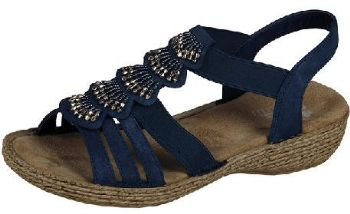 Rieker Ladies Sandals 65869-14